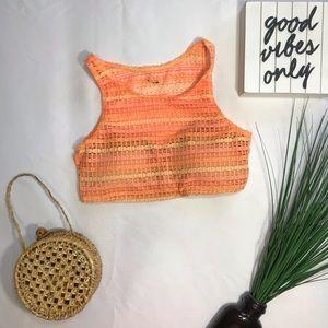 • Volcom Crochet Bikini Top •